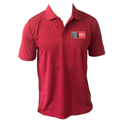 Diploma of Nursing Ruby Bamboo Polo – Men
