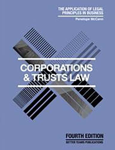 Corporations and Trusts Law